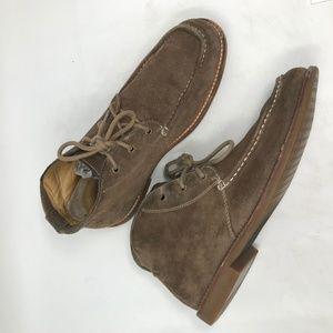 UGG Brown Via Lungarno brown Suede Chukka Boots 9